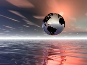 sunrise. planet earth